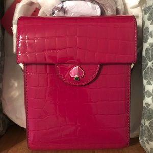 Kate Spade Cleo Croc Embossed Bag